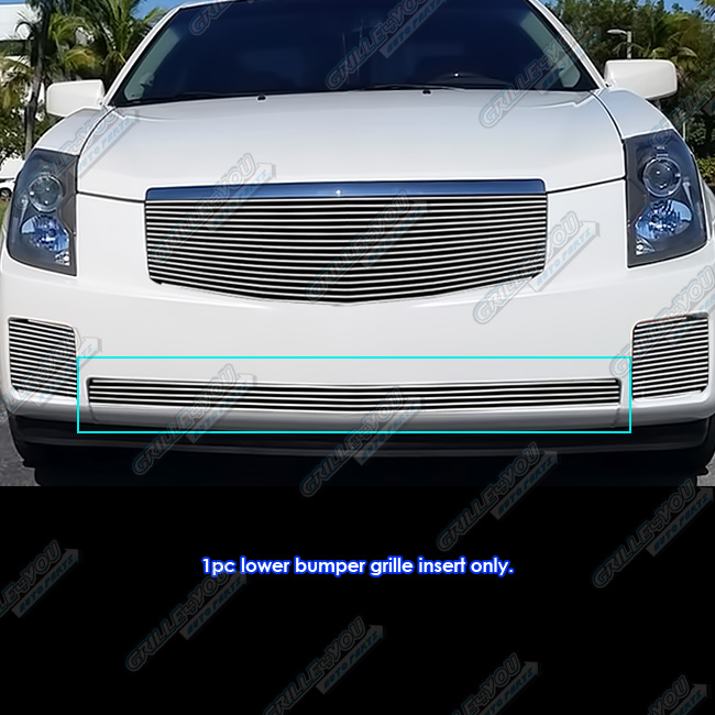 Fits 2003-2007 Cadillac CTS Lower Bumper Billet Grille