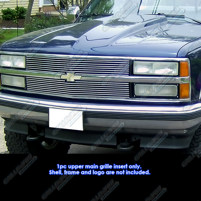 fits 88 93 chevy c k pickup suburban blazer main upper billet grille 2004 Chevy Suburban details about fits 88 93 chevy c k pickup suburban blazer main upper billet grille