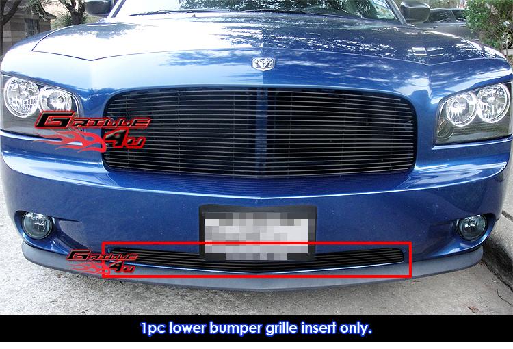 Fits 05-10 Dodge Charger Lower Bumper Billet Grille Insert