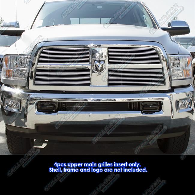 Fits 2010 2012 Dodge Ram 2500 3500 Billet Grille Grill