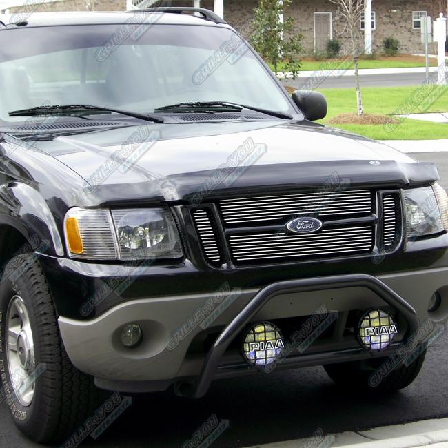 Ford Sport: Fits 01-06 Ford Explorer Sport Trac Billet Grille Insert