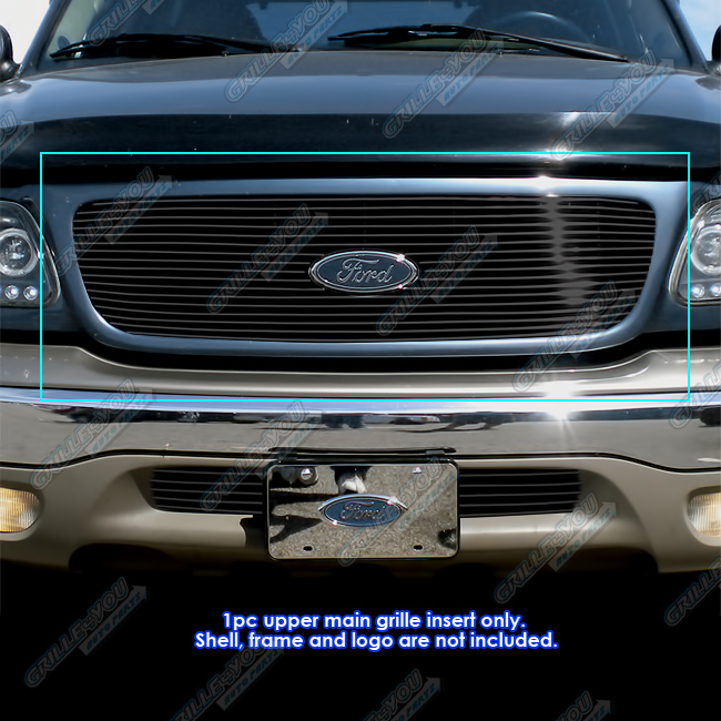 2002 Ford Expedition For Sale: Fits 1999-2002 Ford Expedition Black Billet Grille Grill