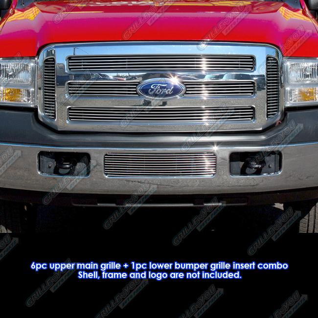 Fits 05-07 Ford Focus Billet Grille Insert