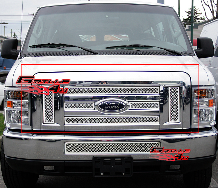 Fits 2008-2013 Ford Econoline Van/E-Series Stainless Steel