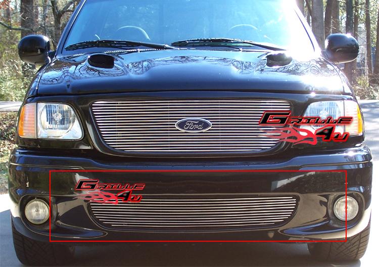 fits 99 03 ford f 150 lightning lower bumper billet grille insert ebay F150 Aftermarket Grill
