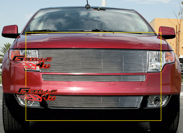 Fits   Ford Edge Billet Grille Insert
