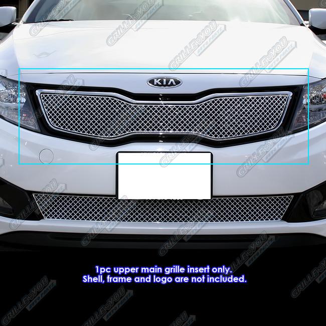 Fits 2011-2013 Kia Optima SX// EX Hybrid//Optima Hybrid Perimeter Grille Grill