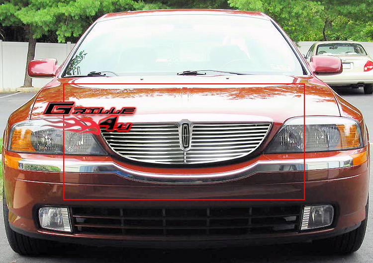 Fits 2000-2002 Lincoln LS Perimeter Grille Insert