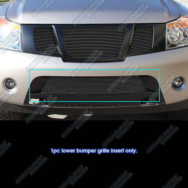 Fits 2008-2015 Nissan Armada Perimeter Grille Insert