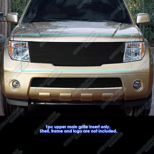 Fits 2005 2008 Nissan Frontier2005 2007 Pathfinder Black Billet