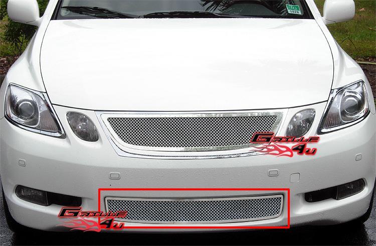 Fits 06 Lexus GS 300//05-07 GS 430//07 GS 450H Main Upper Billet Grille