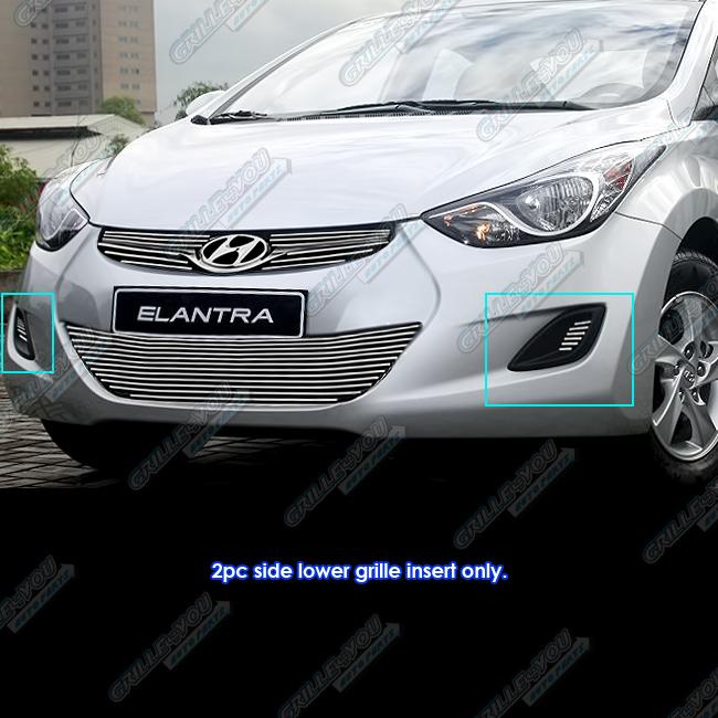Hyundai Elantra Hatchback 2014: Fits 2012-2014 Hyundai Elantra Fog Light Bumper Billet