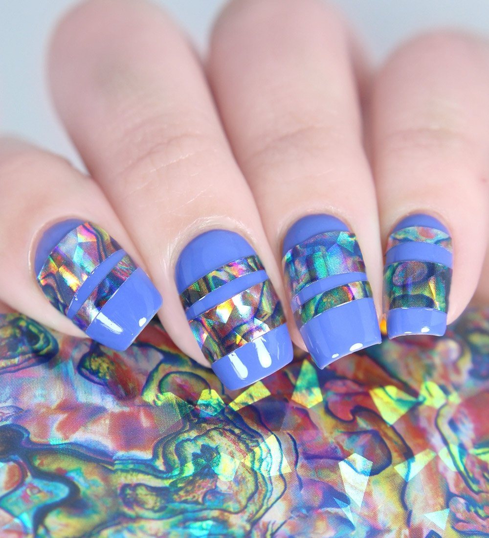 BMC 5pc Brilliantly Colored Holographic Manicure Nail Art
