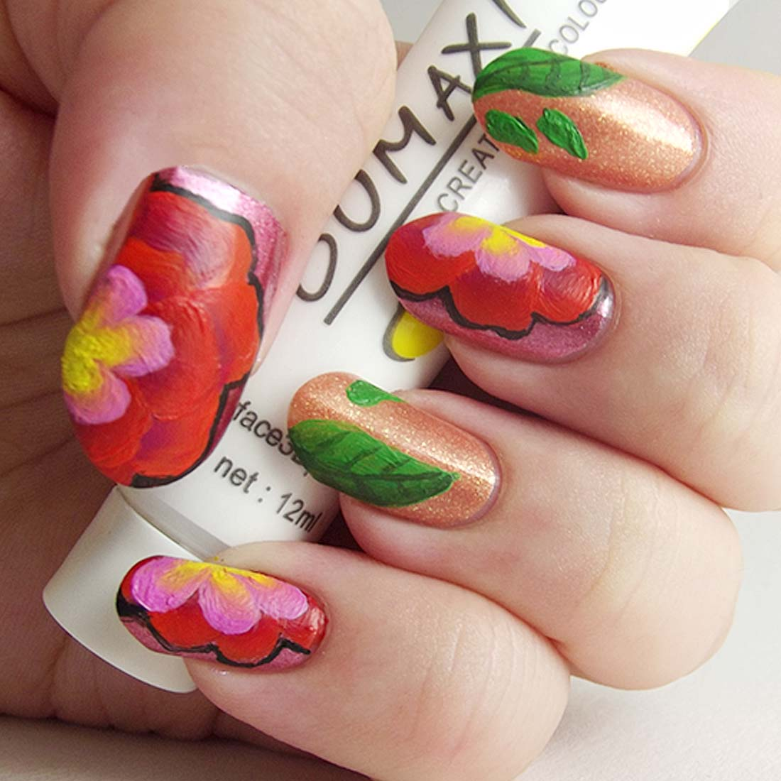 Creative Nail Art: BMC Creative Nail Art Gel Polish Acrylic Manicure Paint