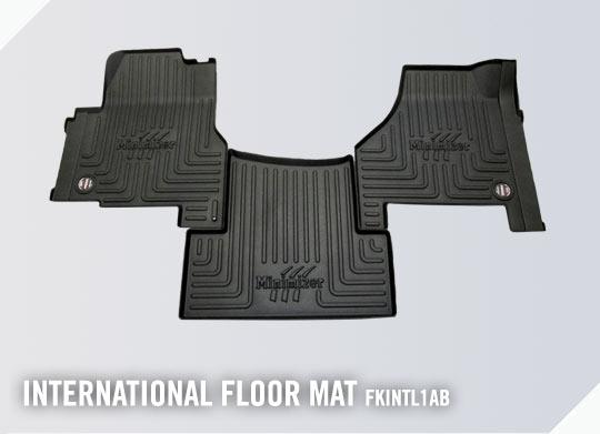 LT625 2018-2020 MINIMIZER Floor Mats; International at Prostar 2011-2017 Lonestar 2011-2019 RH613 2020; Part #FKINTL1AB