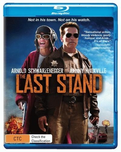 The Last Stand = NEW Blu-Ray Region B