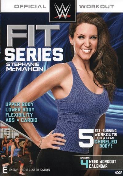 WWE: Fit Series - Stephanie Mcmahon = NEW DVD R4