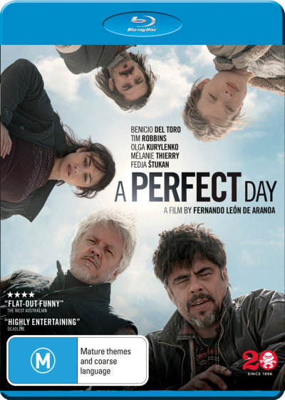 A Perfect Day = NEW Blu-Ray Region B