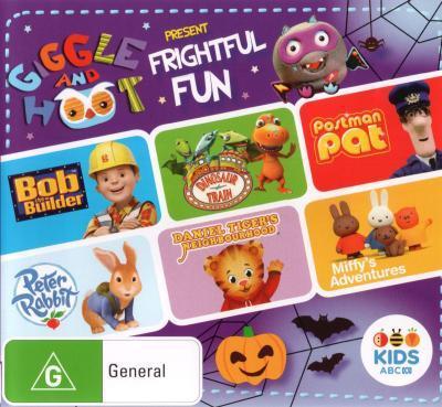 ABC Kids Compilation: Giggle & Hoot Present Frightful Fun = NEW DVD R4