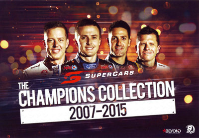 V8 Supercars: The Champions Collection 2007-2015 = NEW DVD R4