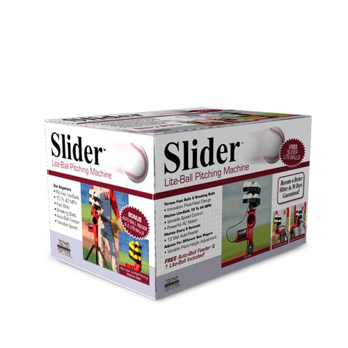 Trend Sports Heater Slider 60mph Lite Ball Pitching