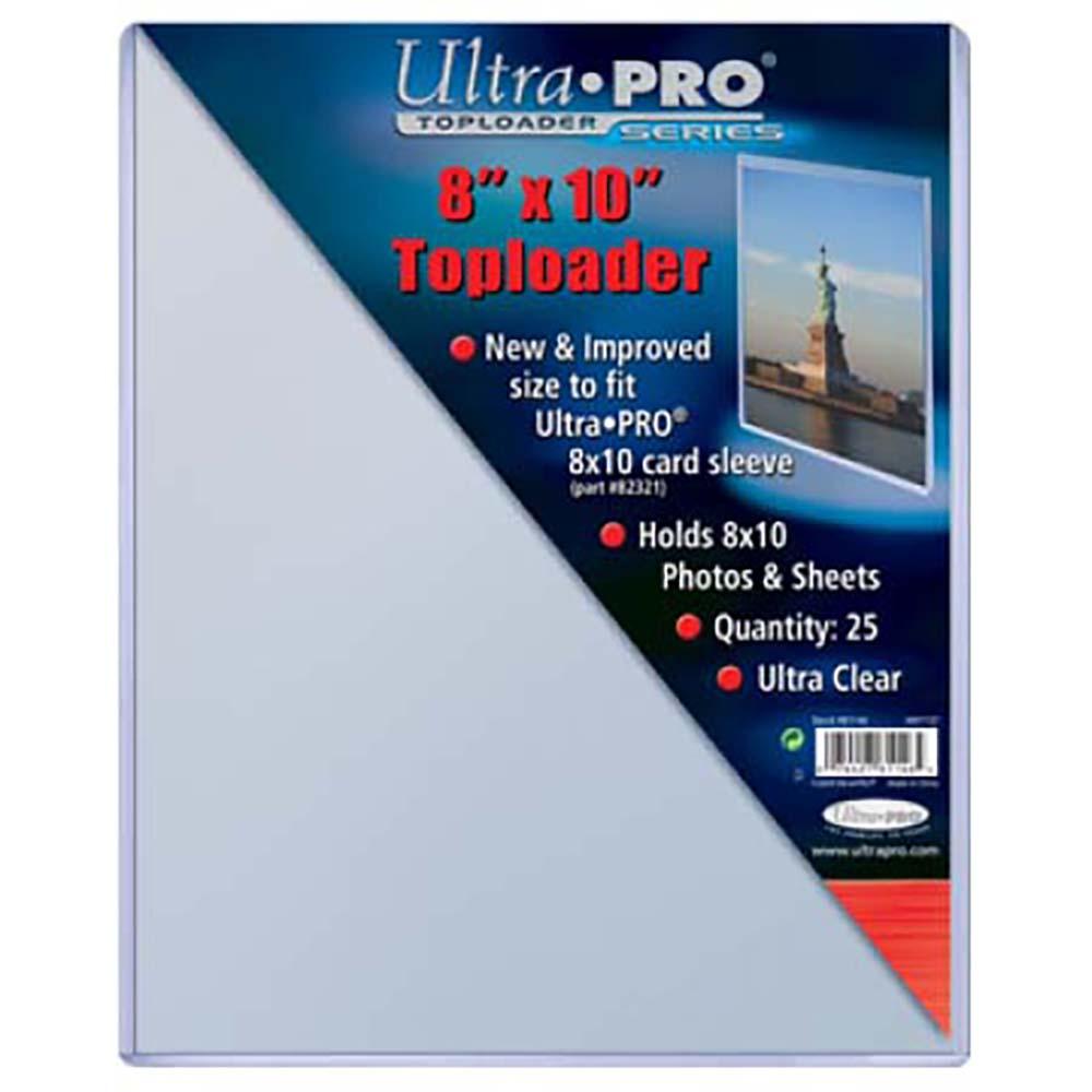 50 Ultra Pro 8 X 10 Hard Plastic Rigid Topload Photo Holders 8x10