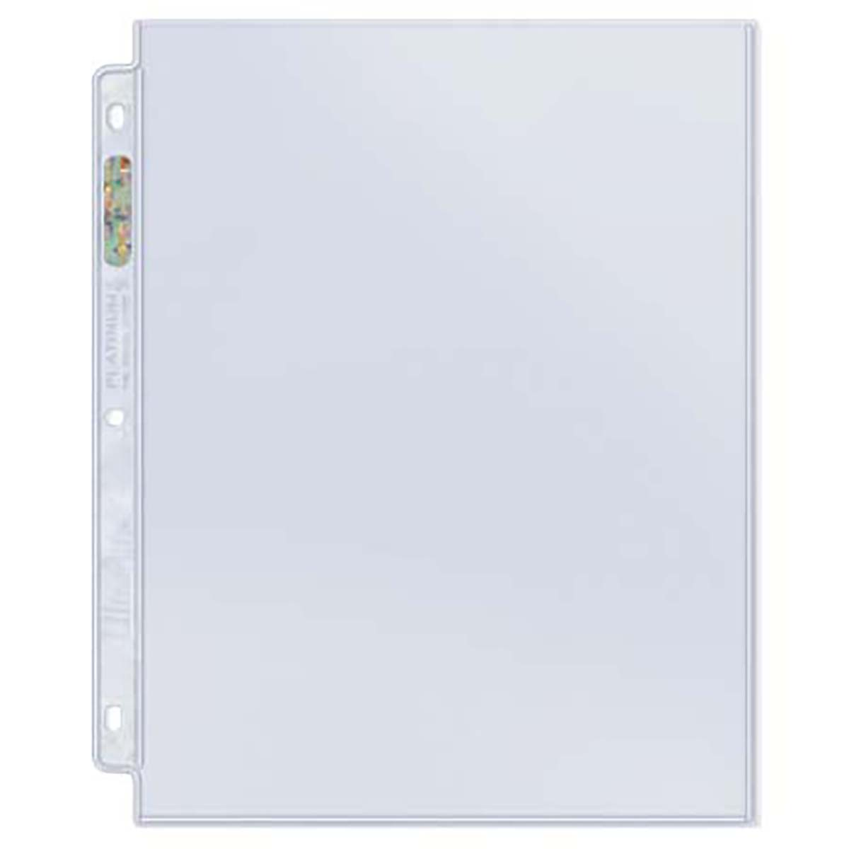 50 Ultra Pro Platinum 8 12 X 11 Magazine Size 1 Pocket Page Album