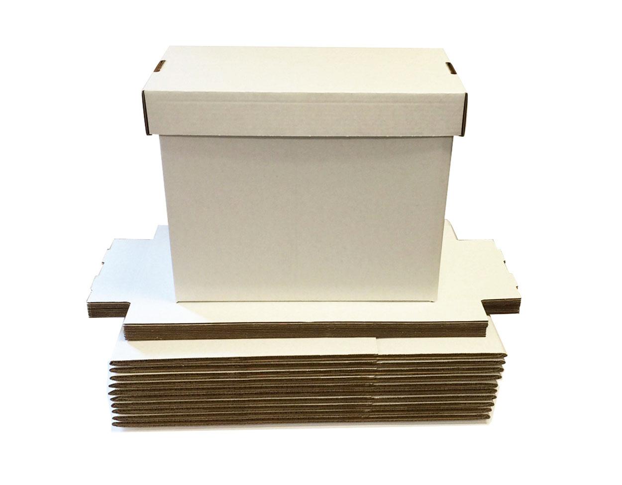 10 Short Comic Storage Boxes NEW Cardboard Max Pro Quality Archival Storage  Box