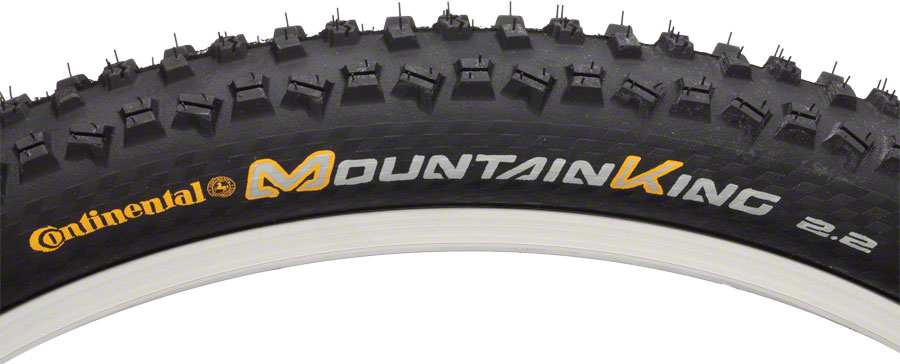 Continental Mountain King II 27.5 X 2.2 Fold Protection Black Chili