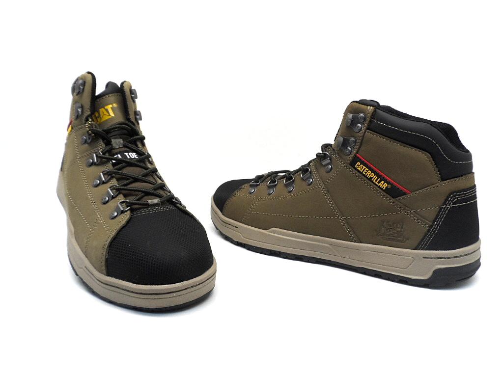Caterpillar Men S Brode Steel Toe Shoes