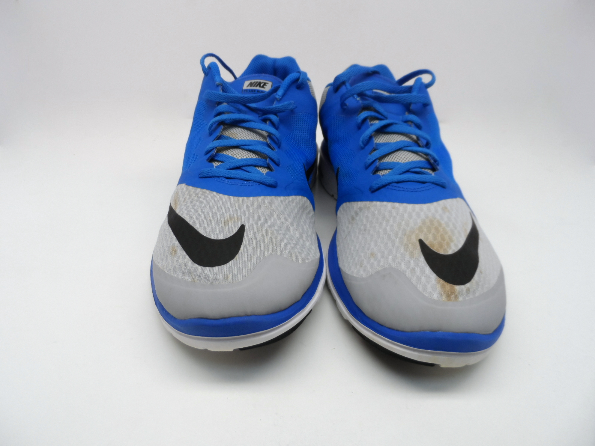 Nike Men's FS Lite Run 3 Running Shoe Blue/Grey Size 12 ...