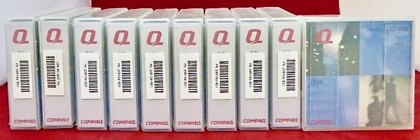 (lot 10) Genuine New Compaq Data Tape Storage Works Dlttape Iv Snelle Warmteafvoer