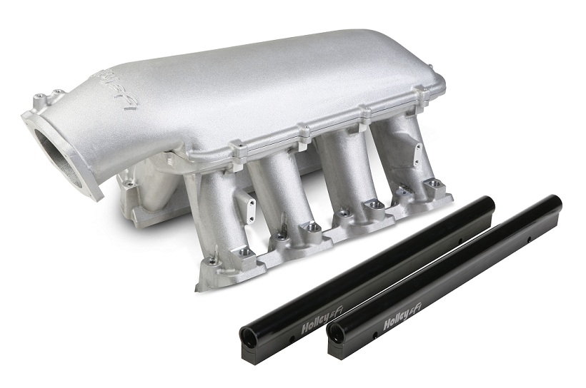 Holley Hi Ram Efi Intake Manifold W 92mm Tb Chevy Gm Ls1