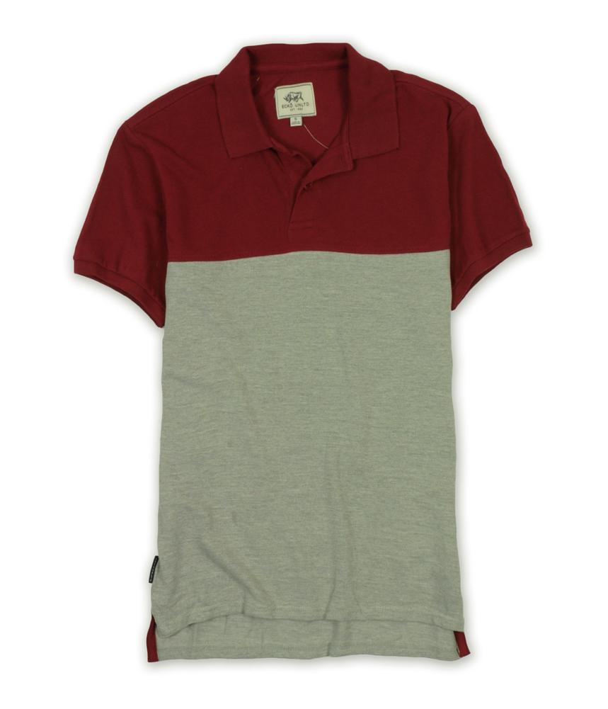 Ecko Unltd. Mens Colorblock Slim Fit Rugby Polo Shirt