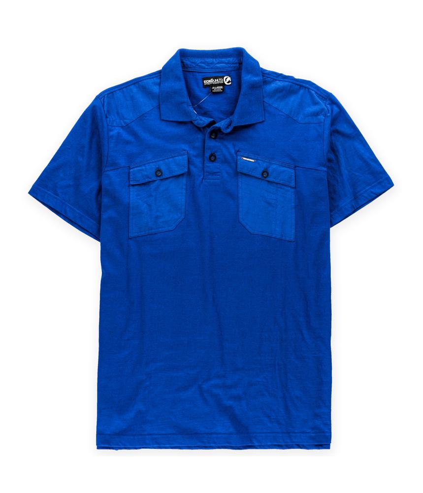 Ecko Unltd. Mens Double Trouble Rugby Polo Shirt