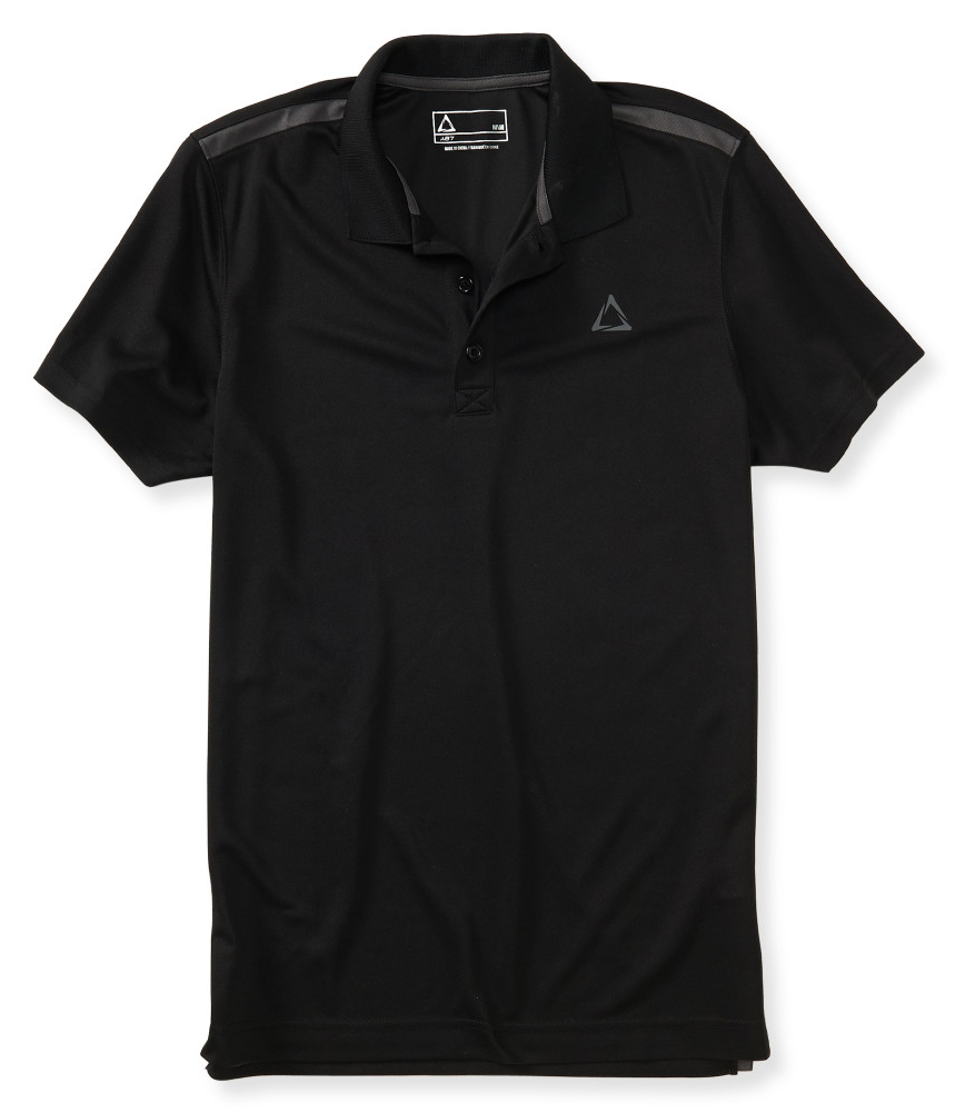 Men's Polo Shirts A versatile piece in every man's closet, polos come in a range of styles, cuts, and fabrics. Dress one up with pants or complete a casual look with jeans.