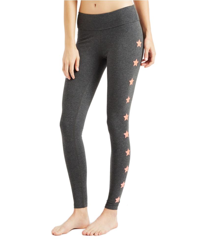 Aeropostale Womens Shimmer Stars Yoga Pants
