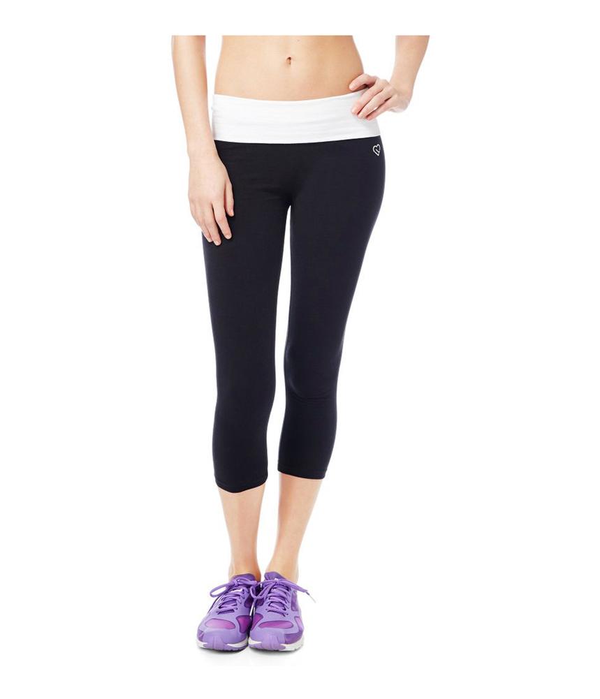 Aeropostale Womens Southwest Crop Yoga Pants