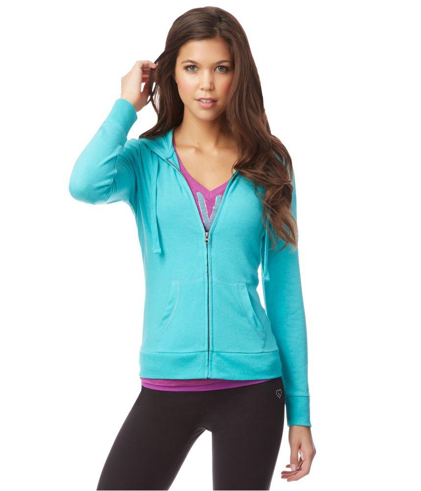 Womens full zip hoodie