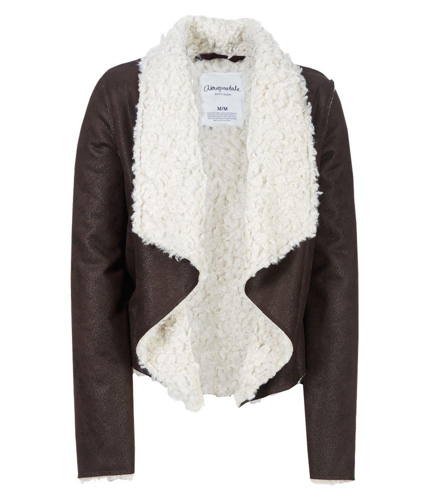 Sherpa coat women