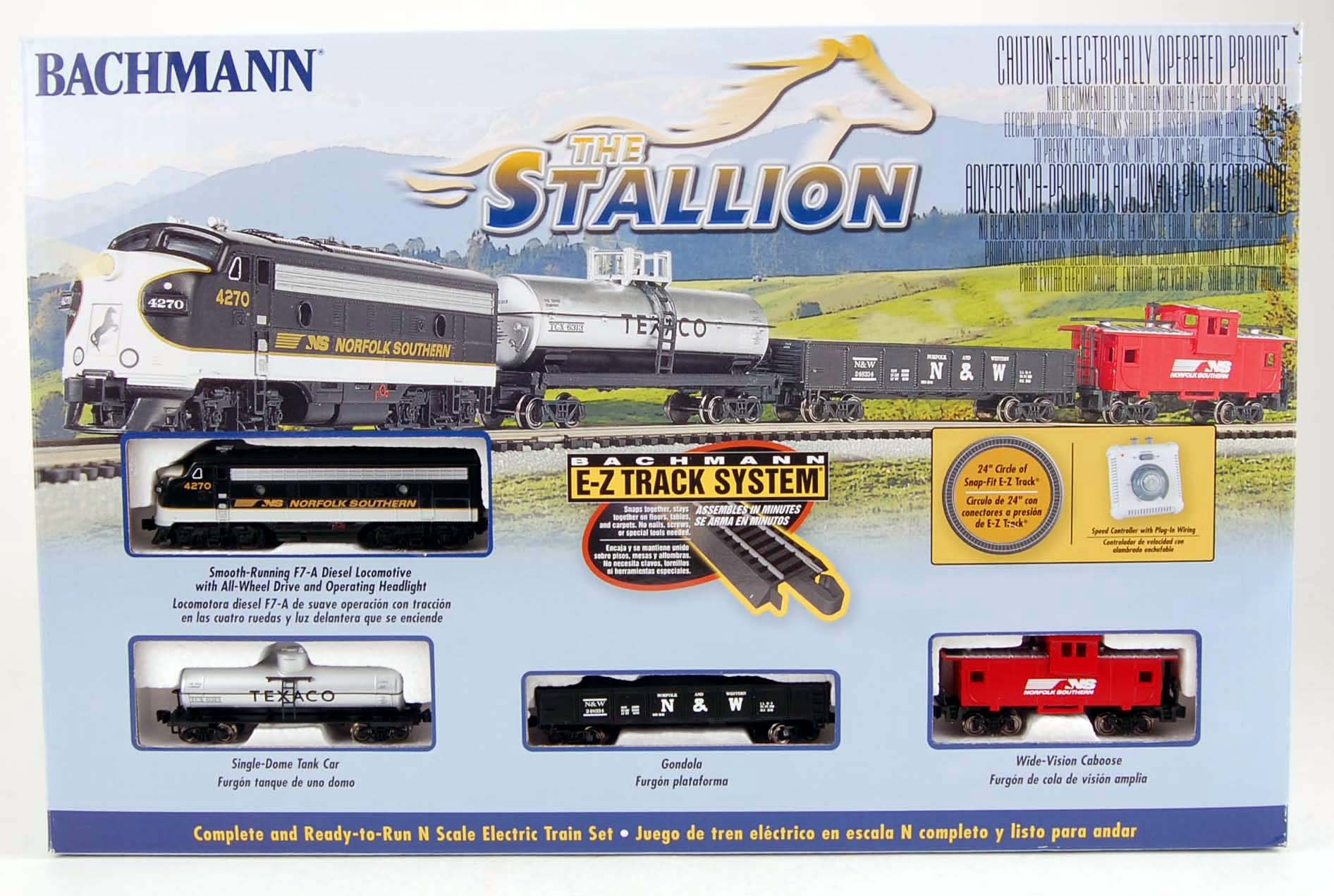 bachmann train instruction manual