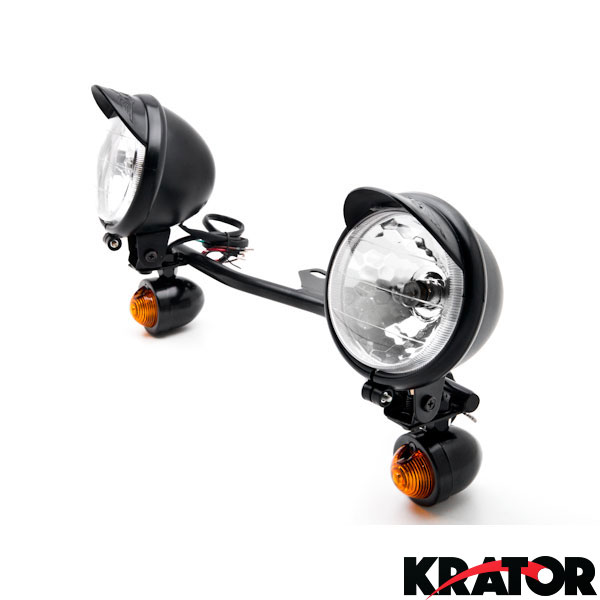 Passing light bar turn signals for harley davidson softail fat boy passing light bar turn signals for harley davidson softail fat boy flstf ebay audiocablefo