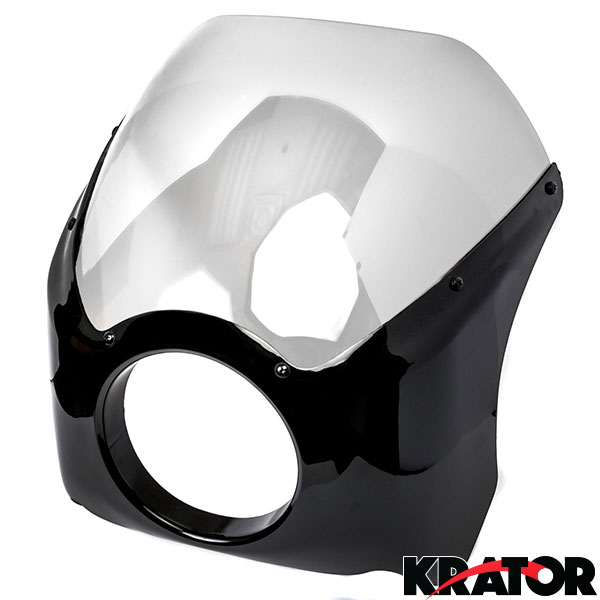 Front Headlight Fairing Mask For Harley Sportster XL 1200 Low Nightster Roadster