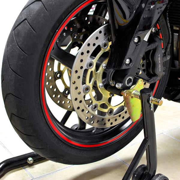 Motorcycle Front Rear Paddle Wheel Lift Stand For Honda Cb