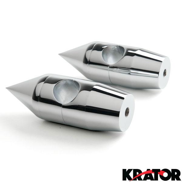 Krator Custom Black Motorcycle 1 Handlebar 2.25 Risers For Suzuki Boulevard C109R C50 C90