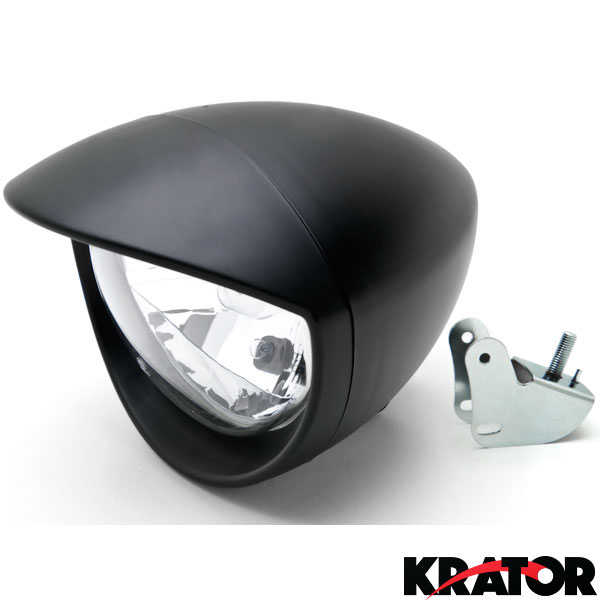 tl010 bs 1 motorcycle custom black headlight for honda shadow aero phantom  at eliteediting.co