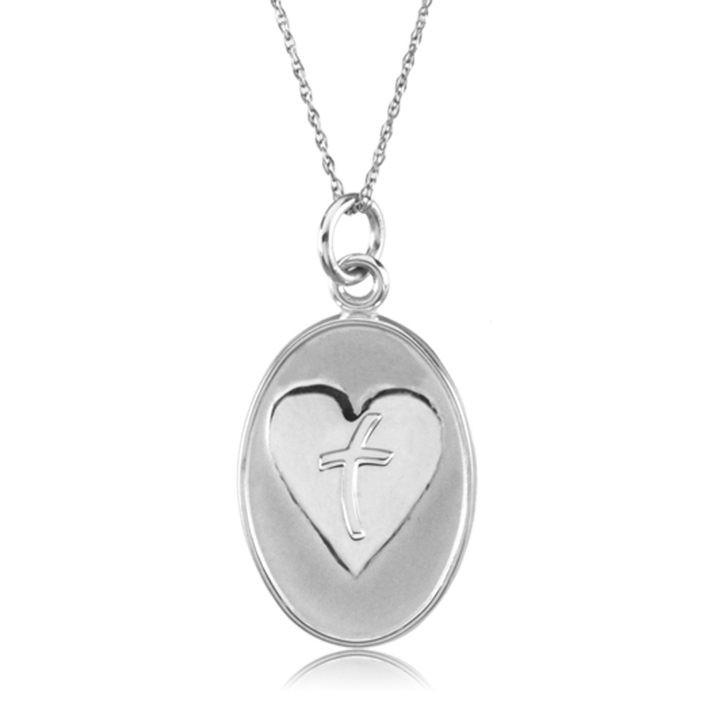 Loss of Father Memorial Necklace in Sterling Silver N8099
