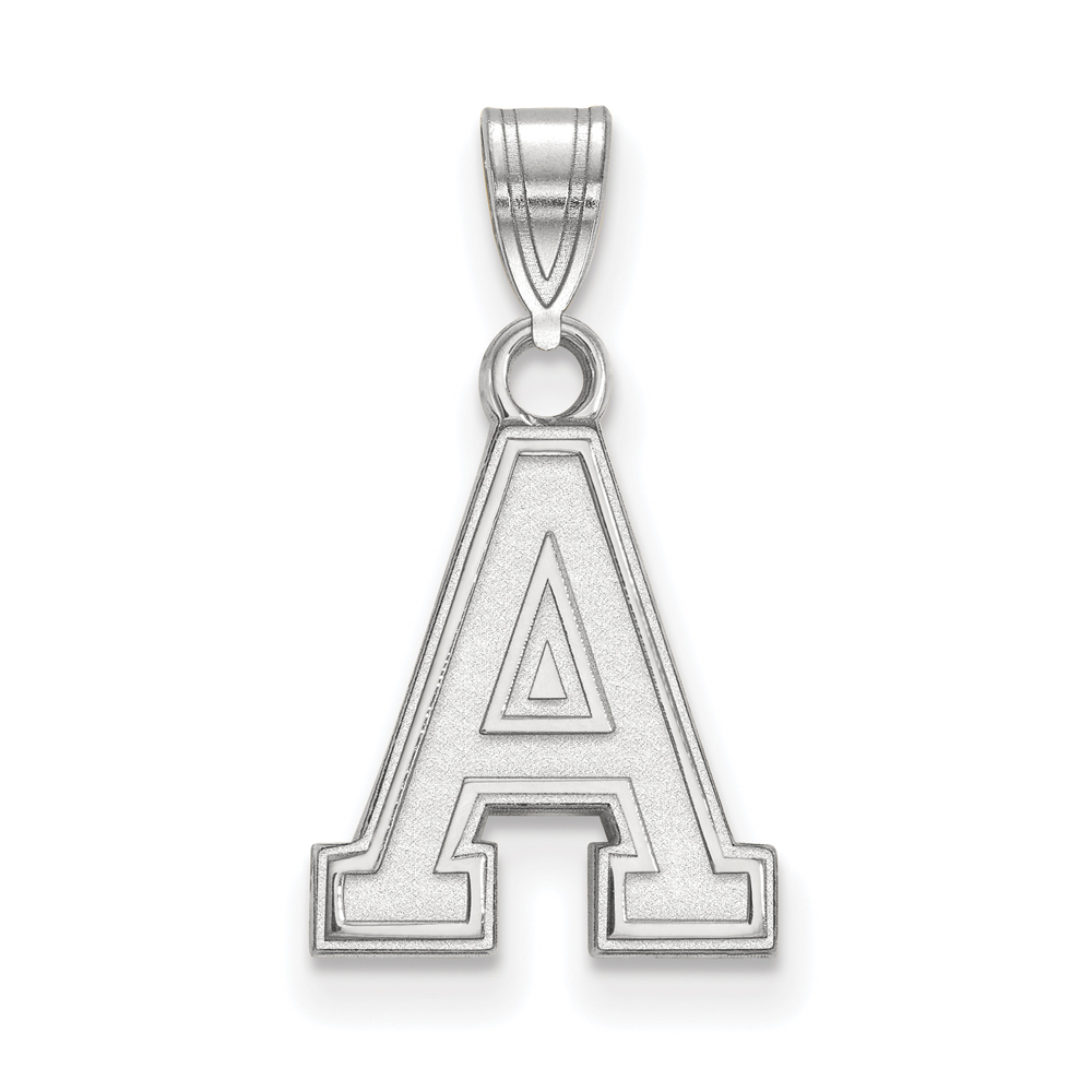 NCAA Sterling Silver Military Academy Small Pendant P15050