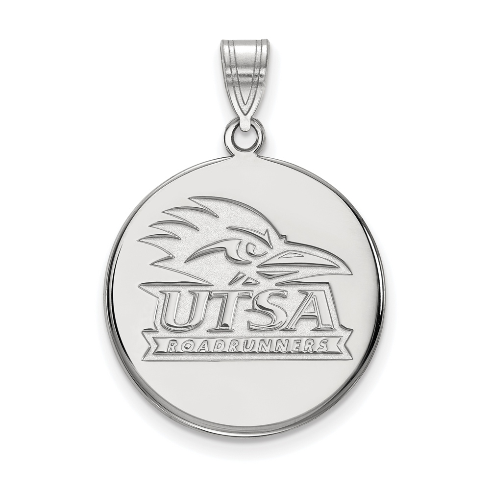NCAA Sterling Silver U. of Texas at San Antonio Large Disc Pendant P17826