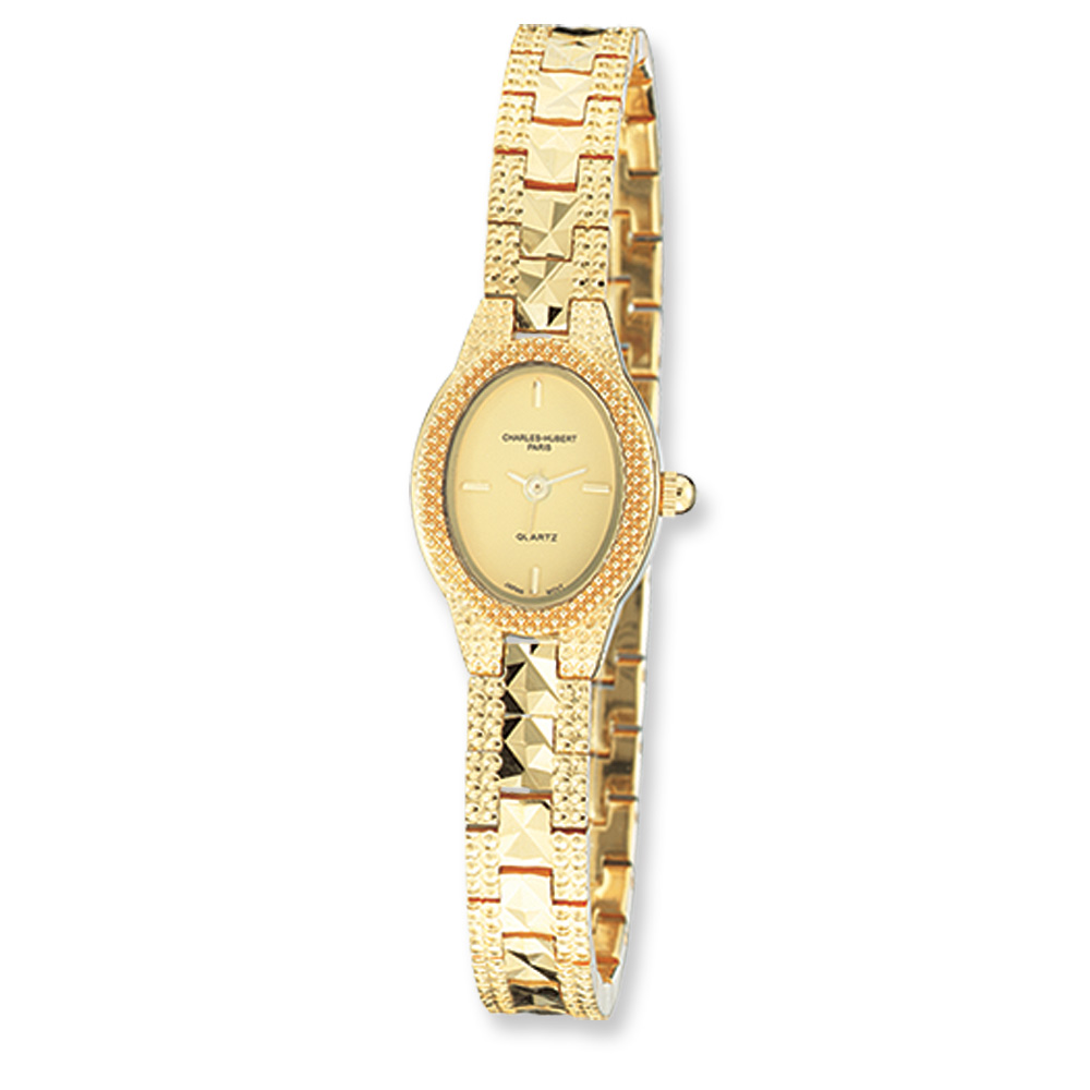 Ladies Gold-plated Dress Watch by Charles Hubert